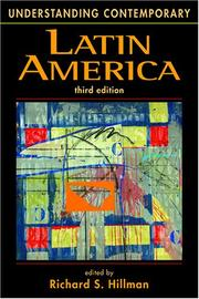 Cover of: Understanding Contemporary Latin America (Understanding) | Richard S. Hillman