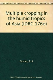 Multiple cropping in the humid tropics of Asia