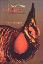 Cover of: GRASSLAND GROUSE