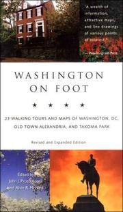 Cover of: Washington on Foot, Fourth Edition | Protopappas Jj