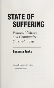 Cover of: State of suffering | Susanna Trnka