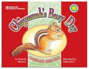 Cover of: Chipmunk's Busy Day