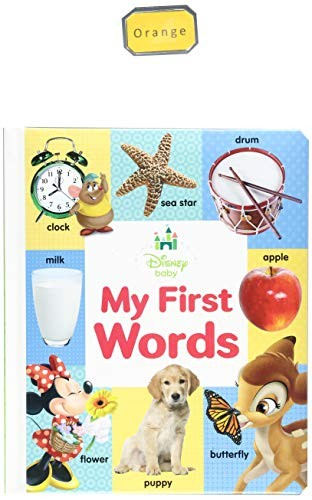 Disney Baby My First Words by Disney Book Group