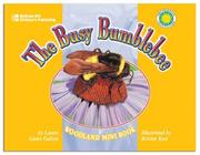 Cover of: The Busy Bumblebee