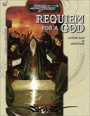 Cover of: Requiem for a God | Monte Cook