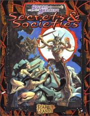 Secrets and Societies (Sword and Sorcery) by Sword & Sorcery Studios