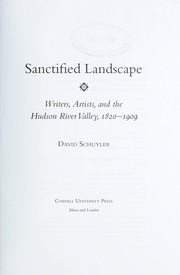 Cover of: Sanctified landscape | David Schuyler