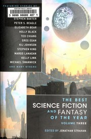 Cover of: The Best Science Fiction and Fantasy of the Year, Volume Three