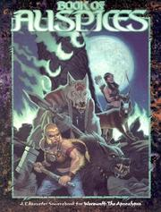 Cover of: Book of Auspices (Werewolf the Apocalypse) | Matt McFarland