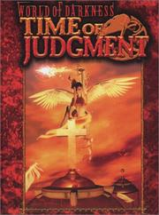 Cover of: Time of Judgment (World of Darkness) | David Carroll
