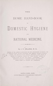 Cover of: The home hand-book of domestic hygiene and rational medicine
