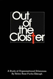 Cover of: Out of the Cloister | Helen Rose Fuchs Ebaugh