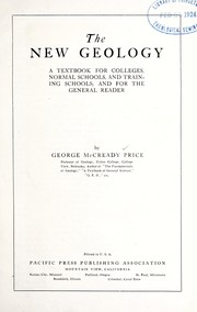 Cover of: The new geology | George McCready Price