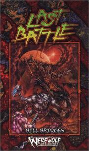 Cover of: The Last Battle (Werewolf: Time of Judgement) |