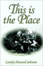 Cover of: This Is The Place