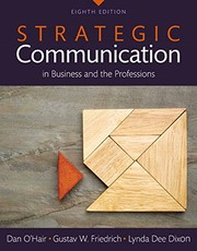 Cover of: Strategic Communication in Business and the Professions -- Books a la Carte (8th Edition)