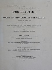 Cover of: The beauties of the court of King Charles the Second | Jameson Mrs