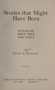 Cover of: Stories that might have been | Emma A. Robinson