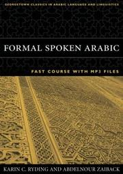 Cover of: Formal Spoken Arabic Fast Course | Karin C. Ryding