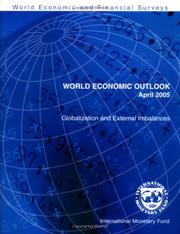 Cover of: World Economic Outlook 2005 | International Monetary Fund.