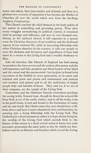 The Archbishop speaks by Fisher, Geoffrey Francis Abp. of Canterbury