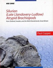 Cover of: Silurian (Late Llandovery-Ludlow) Atrypid Brachiopods | Paul Copper