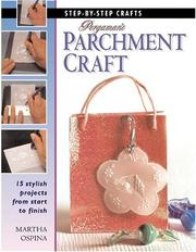 Cover of: Pergamano Parchment Craft (Step-by-step Crafts)