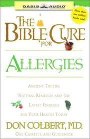 Cover of: The Bible Cure for Allergies (Bible Cure