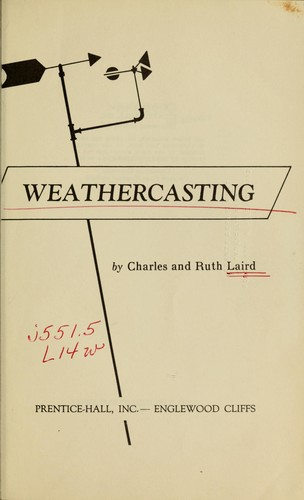 Weathercasting by Charles Laird