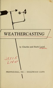 Cover of: Weathercasting | Charles Laird