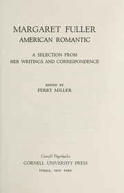 Cover of: Margaret Fuller, American romantic