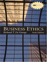 Cover of: Business Ethics with CD-ROM (6th Edition) | Richard DeGeorge