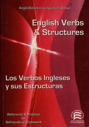 Cover of: English verbs & structures = | Ana Merino