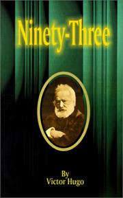 Cover of: Ninety-Three | Victor Hugo