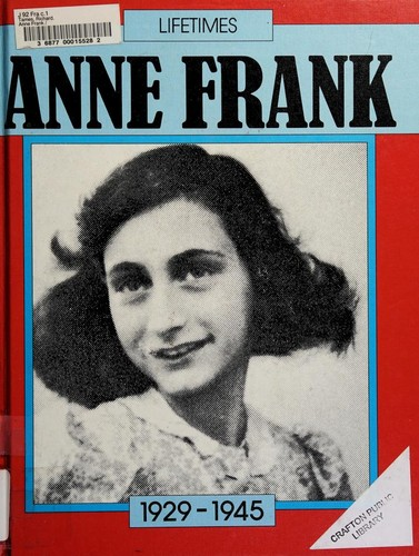 Anne Frank by Richard Tames
