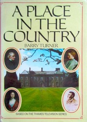 Cover of: A place in the country | Barry Turner