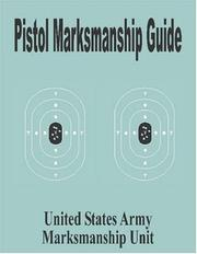 Cover of: Pistol Marksmanship Guide