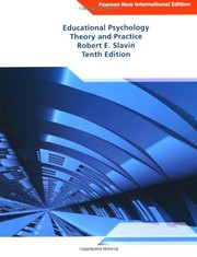 Cover of: Educational Psychology: Pearson New International Edition: Theory and Practice
