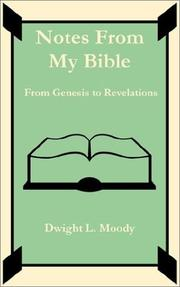 Cover of: Notes From My Bible