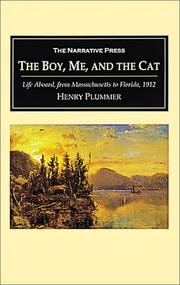 Cover of: The Boy, Me, and the Cat | Henry M. Plummer