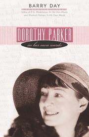 Cover of: Dorothy Parker in her own words
