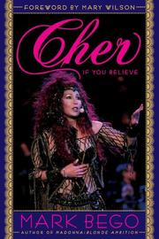 Cover of: Cher