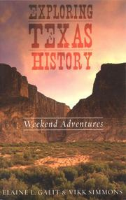 Cover of: Exploring Texas history | Elaine L. Galit