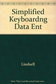Cover of: Simplified keyboarding for data entry