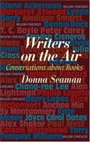 Cover of: Writers on the air | Donna Seaman