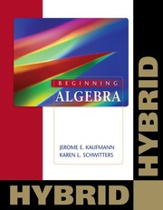 Cover of: Beginning Algebra: Hybrid (with WebAssign with eBook for One Term Math and Science) (Cengage Learning's New Hybrid Editions!)