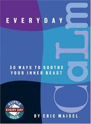 Cover of: Everyday Calm: 30 Ways to Soothe Your Inner Beast (Little Everyday Deck)
