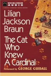 Cover of: Cat Who Knew a Cardinal (Cat Who... (Audio))
