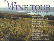 Cover of: Wine Tour of the Finger Lakes | Grady Wells