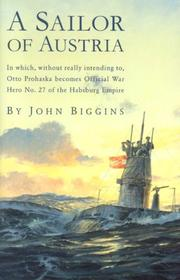 Cover of: A sailor of Austria